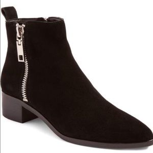 Dolce Vita Suede Ankle Booties